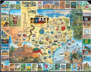 Puzzles 1000 pc Jigsaw family fun